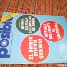 Coleccionismo de Revistas y Periódicos: REVISTA POSIBLE N 157. Lote 173005408