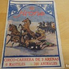 Coleccionismo de Revistas y Periódicos: REVISTA KRONE . CIRCO CARRERA DE 3 ARENAS . 6 MASTILES 700 ANIMALES .. Lote 173059453