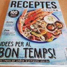 Coleccionismo de Revistas y Periódicos: RECEPTES BY CUINA / 9 / IDEES PER AL BON TEMPS / 100 RECEPTES FÀCILS I ORIGINALS /. Lote 173061693