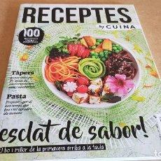 Coleccionismo de Revistas y Periódicos: RECEPTES BY CUINA / 5 / ESCLAT DE SABOR / 100 RECEPTES FÀCILS I ORIGINALS /. Lote 173061772