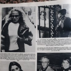Coleccionismo de Revistas y Periódicos: HELMUT BERGER URSULA ANDRESS OLIVIA PASCAL PETER SELLERS. Lote 195153851