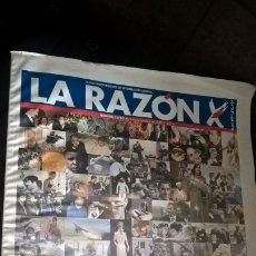 Coleccionismo de Revistas y Periódicos: LA RAZON: EL PERIODICO DE UNA DECADA: UNA CRONICA DE LOS GRANDES ACONTECIMIENTOS DE LOS ULTIMOS DIEZ. Lote 173147145