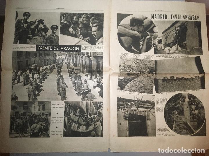 Coleccionismo de Revistas y Periódicos: Diario La Vanguardia Barcelona, Sabado 12 Junio 1937, En La Cuesta De Las Perdices - Foto 2 - 173166950