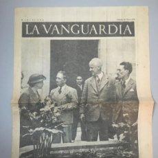 Coleccionismo de Revistas y Periódicos: DIARIO LA VANGUARDIA BARCELONA, SABADO 29 MAYO 1937, LA ESTANCIA EN CATALUNA DE MR. THOMAS. Lote 173168115