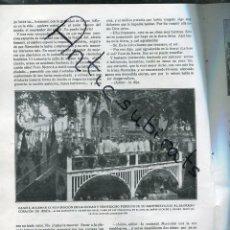 Coleccionismo de Revistas y Periódicos: REVISTA AÑO 1920 GANDIA MANRESA BATALLA DEL BRUCH TAMARITE DE LITERA INTERESANTES FOTOS. Lote 173190487
