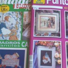 Coleccionismo de Revistas y Periódicos: LOTE DE REVISTAS PUNTO DE CRUZ Y CUADERNOS LAS LABORES DE ANA.. Lote 173233799