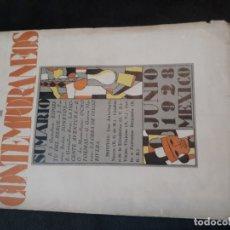 Coleccionismo de Revistas y Periódicos: CONTEMPORÁNEOS REVISTA MEXICANA DE CULTURA MÉXICO 1928 AÑO 10 NRO.1 . Lote 173303198