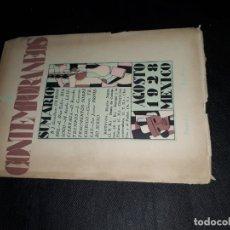 Coleccionismo de Revistas y Periódicos: CONTEMPORÁNEOS REVISTA MEXICANA DE CULTURA MÉXICO 1928 AÑO 10 NRO.3 . Lote 173307717