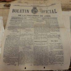 Coleccionismo de Revistas y Periódicos: BOLETIN OFICIAL DE LA PROVINCIA DE JAEN,10 DE FEBRERO DE 1903, 4 PAGINAS, OPERACIONES EN MINAS. Lote 173381619