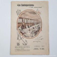 Coleccionismo de Revistas y Periódicos: MARGARITA, BENIGNO VARELA, COLEC. LITERARIA LOS CONTEMPORÁNEOS, Nº 284, 05-06-1914. Lote 173395287