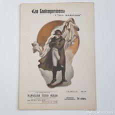 Coleccionismo de Revistas y Periódicos: NAPOLEÓN TUVO MIEDO, DIEGO SAN JOSÉ, COLEC. LITERARIA LOS CONTEMPORÁNEOS, Nº 286, 19-06-1914. Lote 173396140