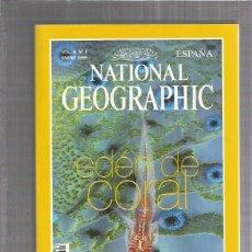 Coleccionismo de Revistas y Periódicos: NATIONAL GEOGRAPHIC 1 1999. Lote 173402102