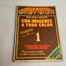 Coleccionismo de Revistas y Periódicos: PROVISION Nº 1 REVISTA EROTICA AÑOS 90. Lote 173408043