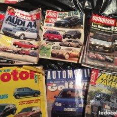 Coleccionismo de Revistas y Periódicos: LOTE 12 REVISTAS DEL MOTOR VARIOS TÍTULOS. MOTOR16, AUTOAVENTURA, AUTOPISTA, VARIOS AÑOS Y NÚMEROS.. Lote 173453309