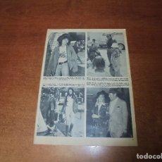 Coleccionismo de Revistas y Periódicos: CLIPPING 1973: MARÍA SCHNEIDER. CHARLTON HESTON EN MADRID. FLORINDA BOLKAN. REX HARRISON. Lote 173606398