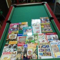 Coleccionismo de Revistas y Periódicos: LOTE 18 REVISTAS VARIADAS PUNTO DE CRUZ. Lote 173643252