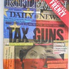 Coleccionismo de Revistas y Periódicos: AMERICAN RIFLEMAN , ANTI-GUN FRENZY JANUARY 1994 . Lote 173666245