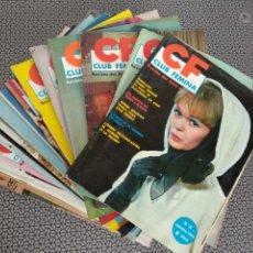 Coleccionismo de Revistas y Periódicos: LOTE 29 REVISTAS CLUB FEMINA AÑOS 60. Lote 173669148