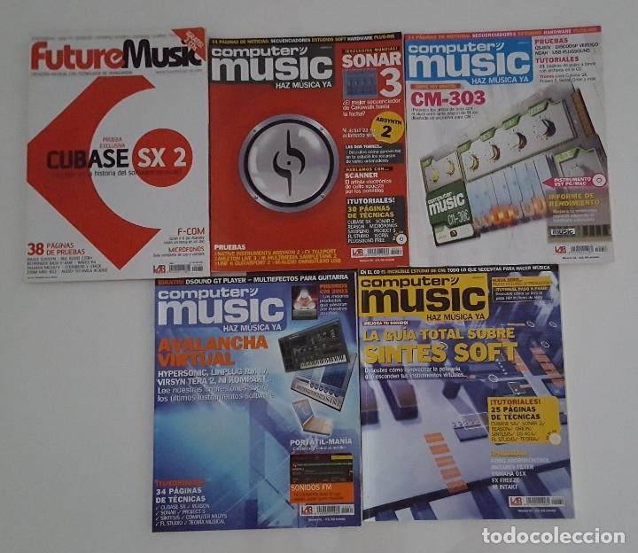 5 REVISTAS DE MÚSICA (Coleccionismo - Revistas y Periódicos Modernos (a partir de 1.940) - Otros)