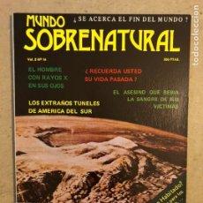 Coleccionismo de Revistas y Periódicos: MUNDO SOBRENATURAL VOL. 2 N° 14 (1980). ¿SE ACERCA EL FIN DEL MUNDO?, MARTE.. ¿PLANETA HABITADO?,.... Lote 173818860