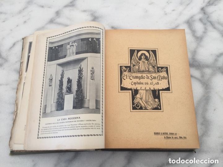 Coleccionismo de Revistas y Periódicos: Tomo con Revistas BLANCO Y NEGRO Año 1907 - Foto 6 - 173852422