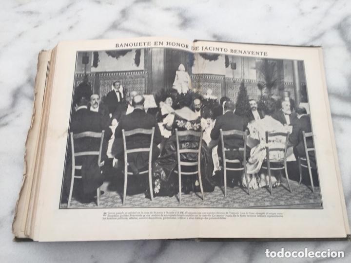 Coleccionismo de Revistas y Periódicos: Tomo con Revistas BLANCO Y NEGRO Año 1907 - Foto 9 - 173852422