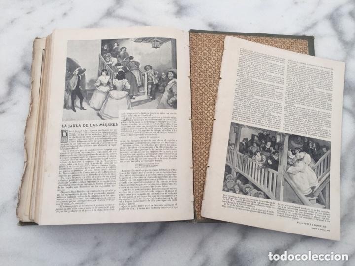 Coleccionismo de Revistas y Periódicos: Tomo con Revistas BLANCO Y NEGRO Año 1907 - Foto 10 - 173852422