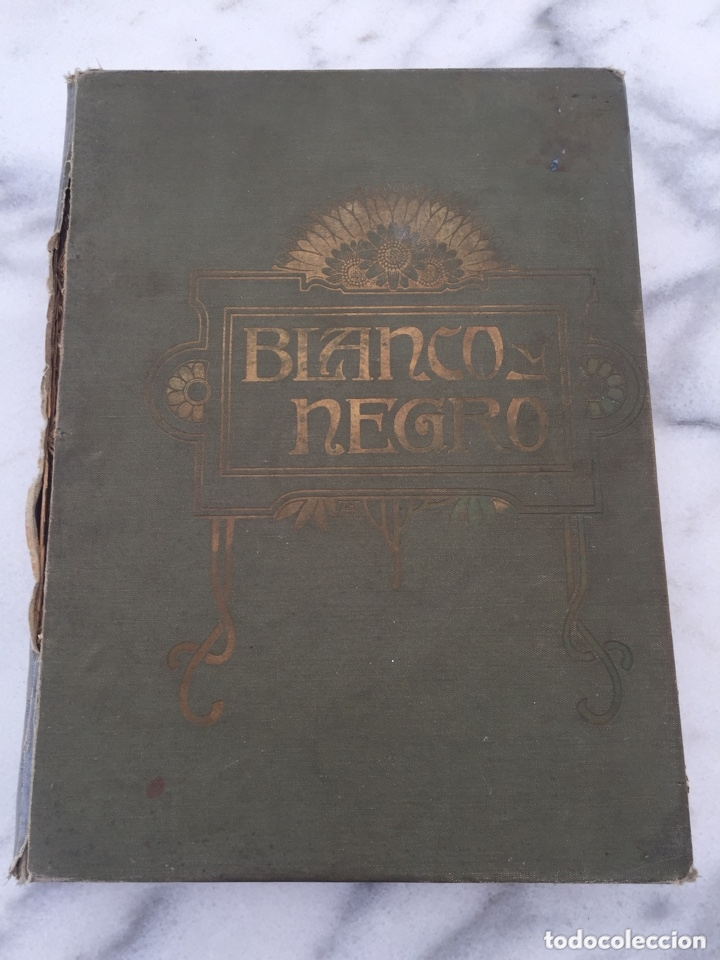 TOMO CON REVISTAS BLANCO Y NEGRO AÑO 1907 (Coleccionismo - Revistas y Periódicos Antiguos (hasta 1.939))