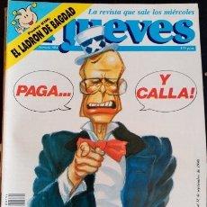 Coleccionismo de Revistas y Periódicos: EL JUEVES. Nº 694. AÑO XIV. DEL 12 AL 18 DE SEPTIEMBRE DE 1990.. Lote 173712952