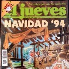 Coleccionismo de Revistas y Periódicos: EL JUEVES. Nº 917. AÑO XVIII. DEL 21 AL 27 DE DICIEMBRE DE 1994.. Lote 173712967