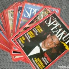 Coleccionismo de Revistas y Periódicos: LOTE 29 REVISTAS SPEAK UP 1991/1992. Lote 173985942