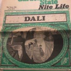 Coleccionismo de Revistas y Periódicos: PERIÓDICO DALI. Lote 173990393