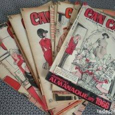 Coleccionismo de Revistas y Periódicos: LOTE 30 REVISTAS CAN CAN AÑOS 1965/66/67. Lote 173991572