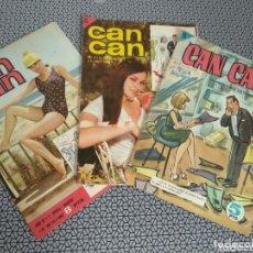 Coleccionismo de Revistas y Periódicos: LOTE 3 REVISTAS CAN CAN 1964/1967. Lote 174013205