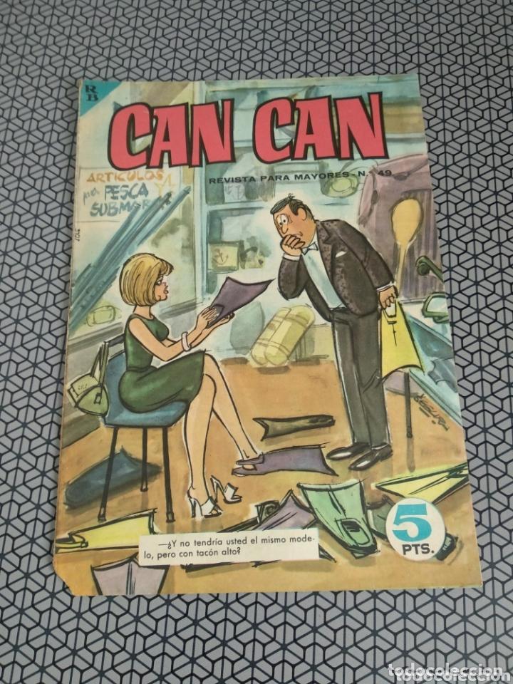 Coleccionismo de Revistas y Periódicos: Lote 3 revistas Can Can 1964/1967 - Foto 4 - 174013205