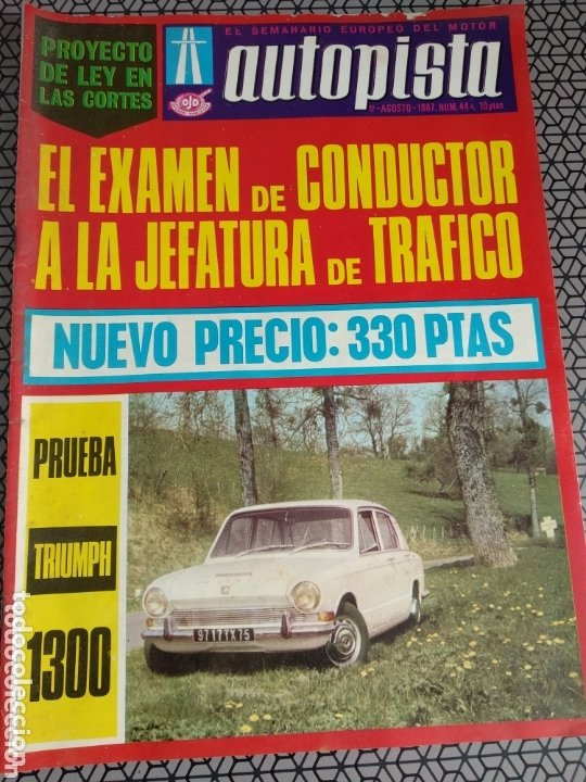 Coleccionismo de Revistas y Periódicos: Lote 12 revistas Autopista - Foto 3 - 174014118