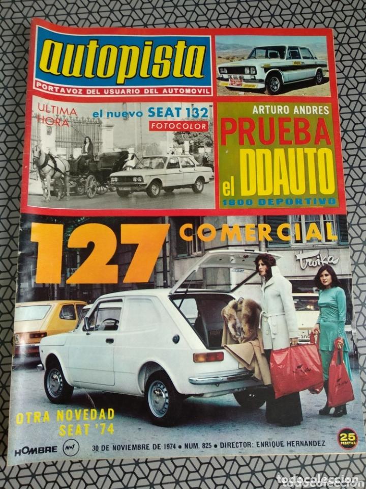 Coleccionismo de Revistas y Periódicos: Lote 12 revistas Autopista - Foto 4 - 174014118