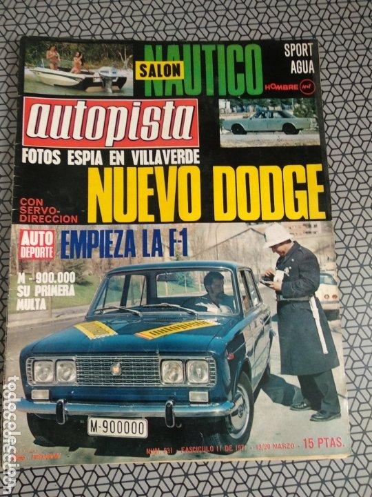 Coleccionismo de Revistas y Periódicos: Lote 12 revistas Autopista - Foto 5 - 174014118