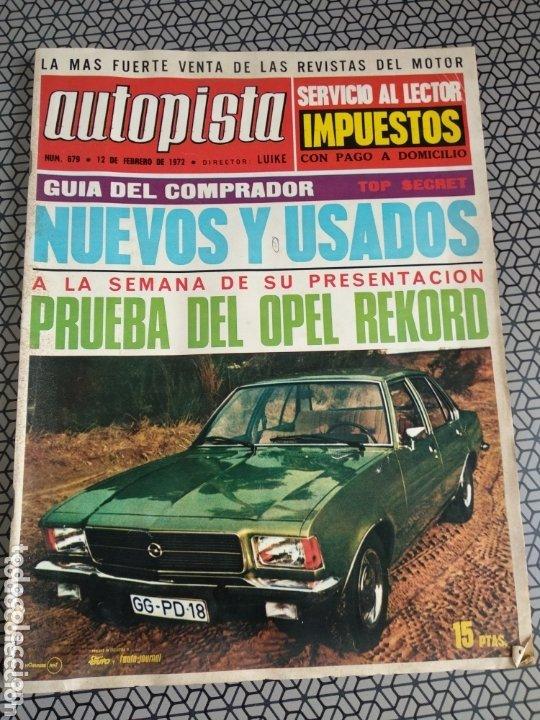 Coleccionismo de Revistas y Periódicos: Lote 12 revistas Autopista - Foto 6 - 174014118