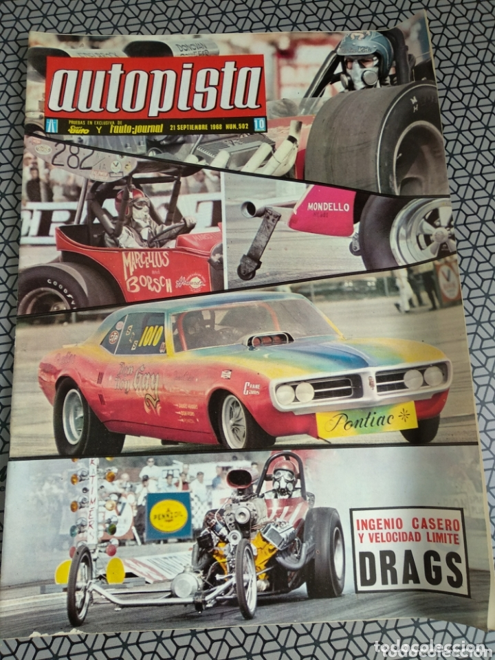 Coleccionismo de Revistas y Periódicos: Lote 12 revistas Autopista - Foto 7 - 174014118