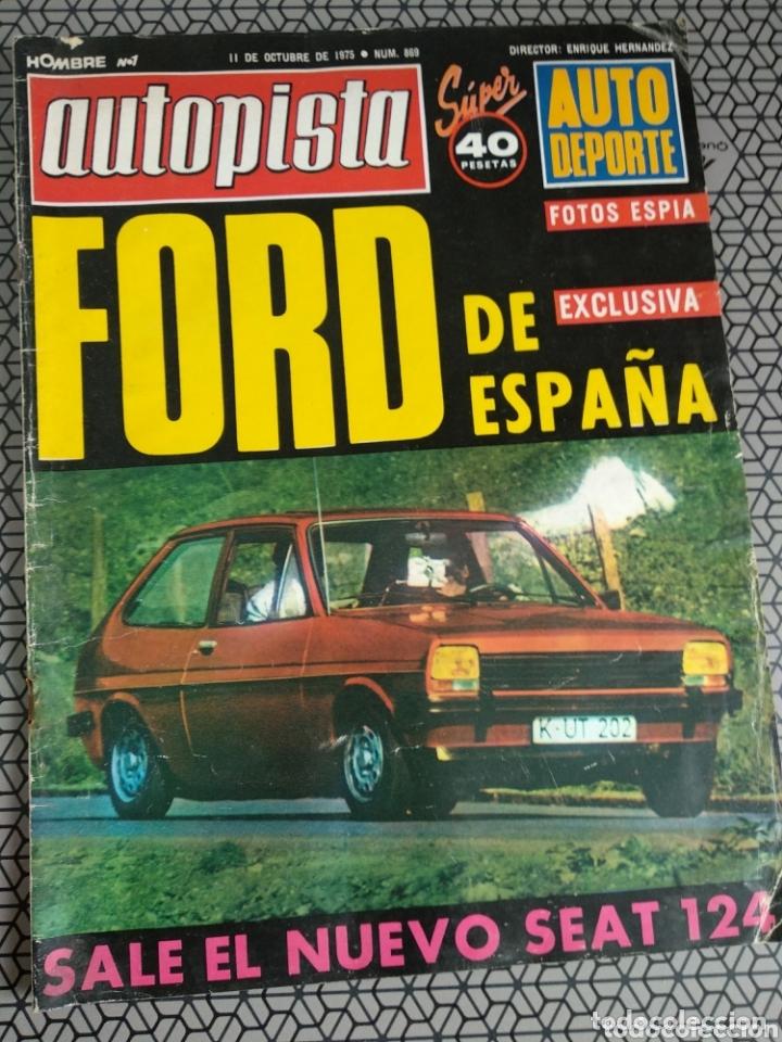 Coleccionismo de Revistas y Periódicos: Lote 12 revistas Autopista - Foto 8 - 174014118
