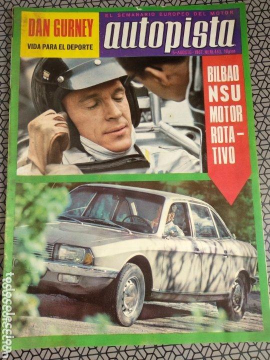 Coleccionismo de Revistas y Periódicos: Lote 12 revistas Autopista - Foto 10 - 174014118