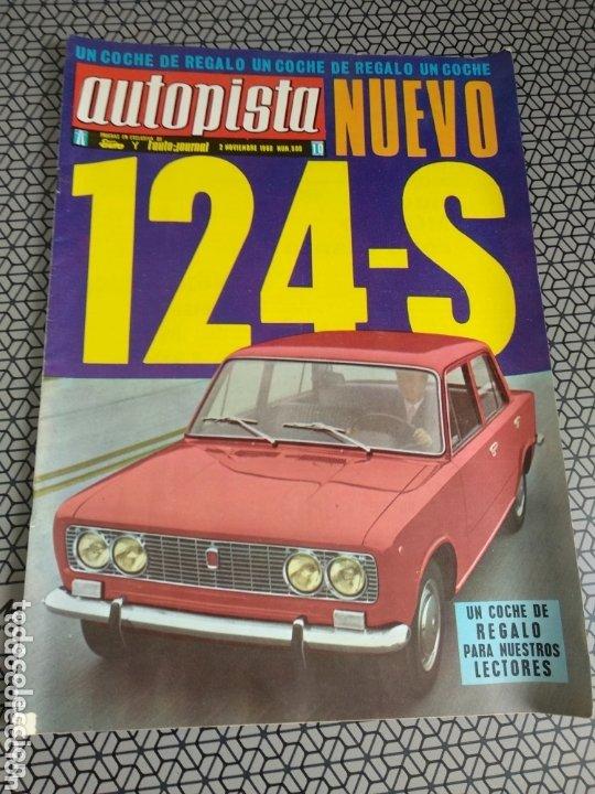 Coleccionismo de Revistas y Periódicos: Lote 12 revistas Autopista - Foto 11 - 174014118