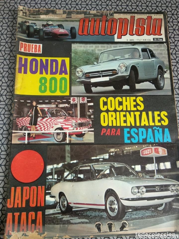 Coleccionismo de Revistas y Periódicos: Lote 12 revistas Autopista - Foto 12 - 174014118
