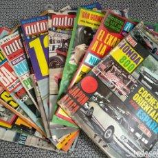 Coleccionismo de Revistas y Periódicos: LOTE 12 REVISTAS AUTOPISTA. Lote 174014118