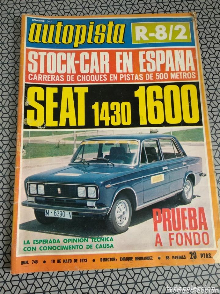 Coleccionismo de Revistas y Periódicos: Lote 12 revistas Autopista - Foto 2 - 174014118