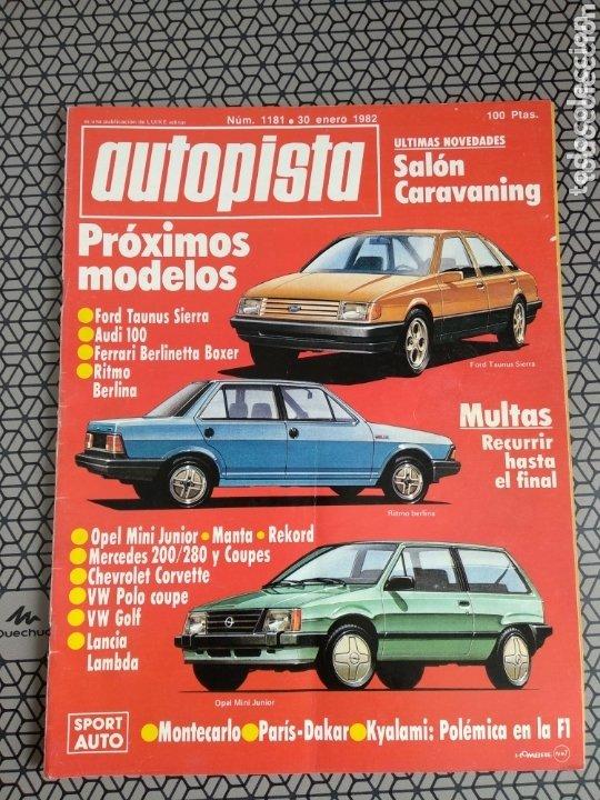 Coleccionismo de Revistas y Periódicos: Lote 4 revistas Autopista - Foto 3 - 174026633