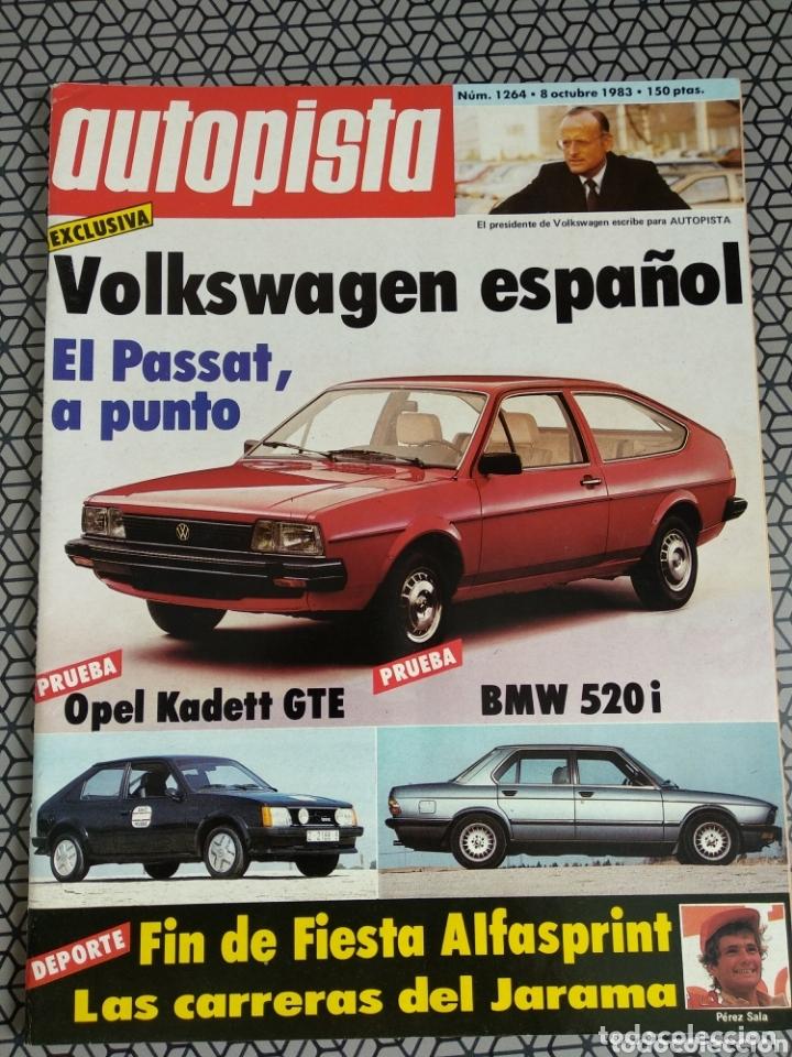 Coleccionismo de Revistas y Periódicos: Lote 4 revistas Autopista - Foto 5 - 174026633