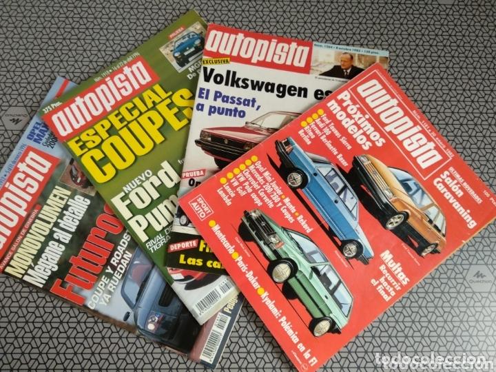 LOTE 4 REVISTAS AUTOPISTA (Coleccionismo - Revistas y Periódicos Modernos (a partir de 1.940) - Otros)