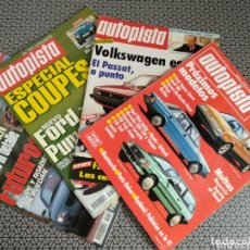 Coleccionismo de Revistas y Periódicos: LOTE 4 REVISTAS AUTOPISTA. Lote 174026633